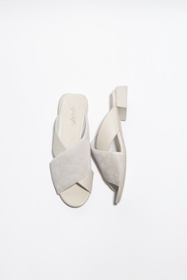 Marsell Stuzzichino Sandals, Foschia Grey Flats