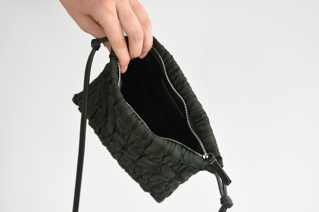 Large Medicine Pouch, Hunter Green
