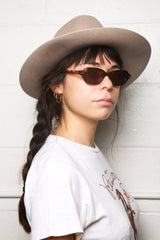 Oliver Peoples The Row LA CC Sunglasses, Whiskey Tortoise Sunglasses