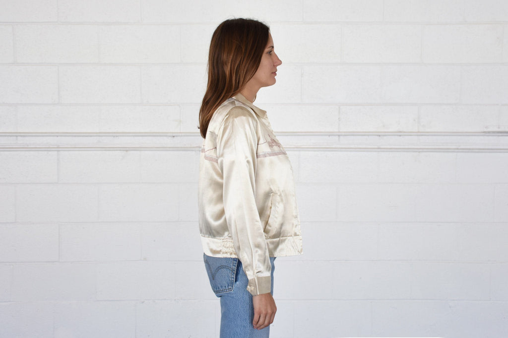 Swingtop Jacket, Ivory
