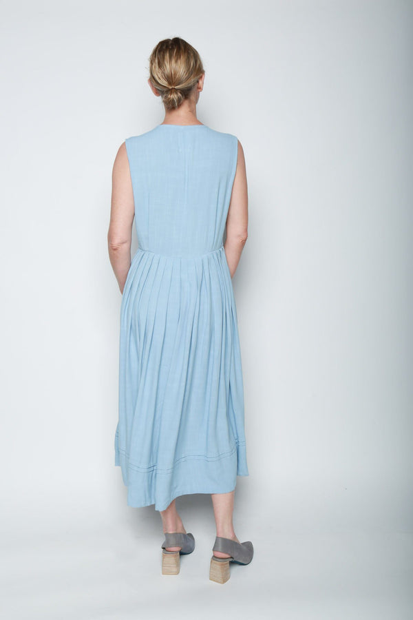 Visvim Visvim Pipa Sleeveless Dress, Lt. Blue Dresses
