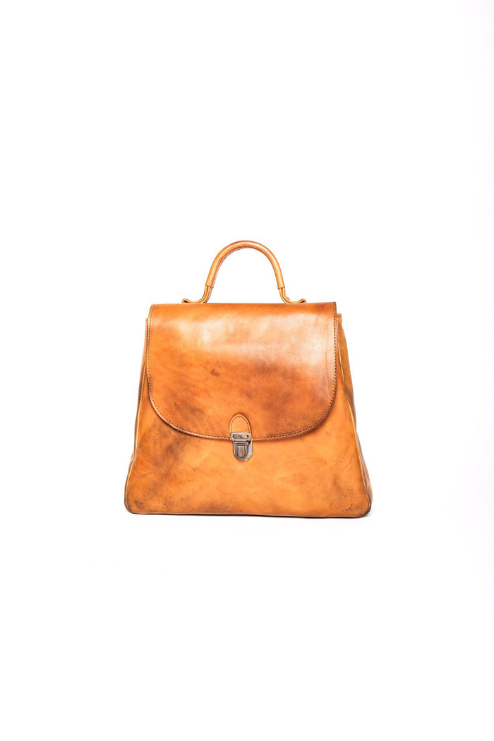 Flat Small Lock Bag, Soviet Orange