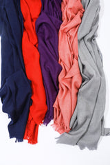 Dianora Salviati Chara Cashmere Scarf, Available in Five Colorways Scarves