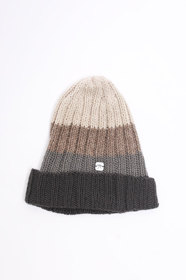 Filù Hats Cashmere Beanie, Grey Fade Hats