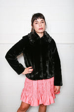 Dara Jacket, Black, Coats + Jackets, Shrimps, Mona Moore