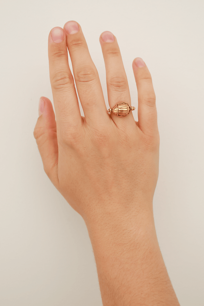 Scarab Ring with Moveable Parts