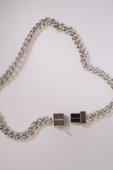 USB Silver Necklace, Jewelry, Vetements, Mona Moore - Mona Moore