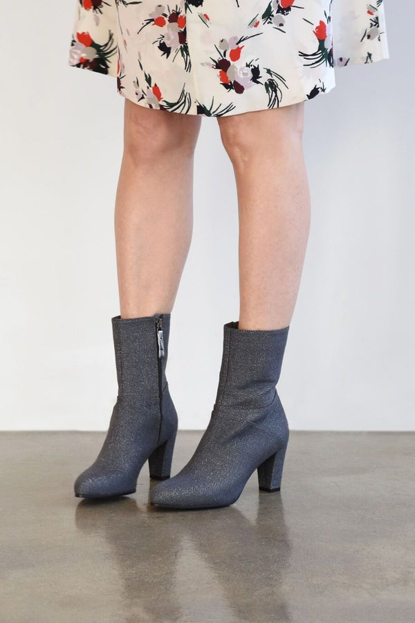 Carritz Mona Boot Chevron Lurex, Gris Boots