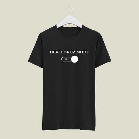 Developer Mode On T-Shirt