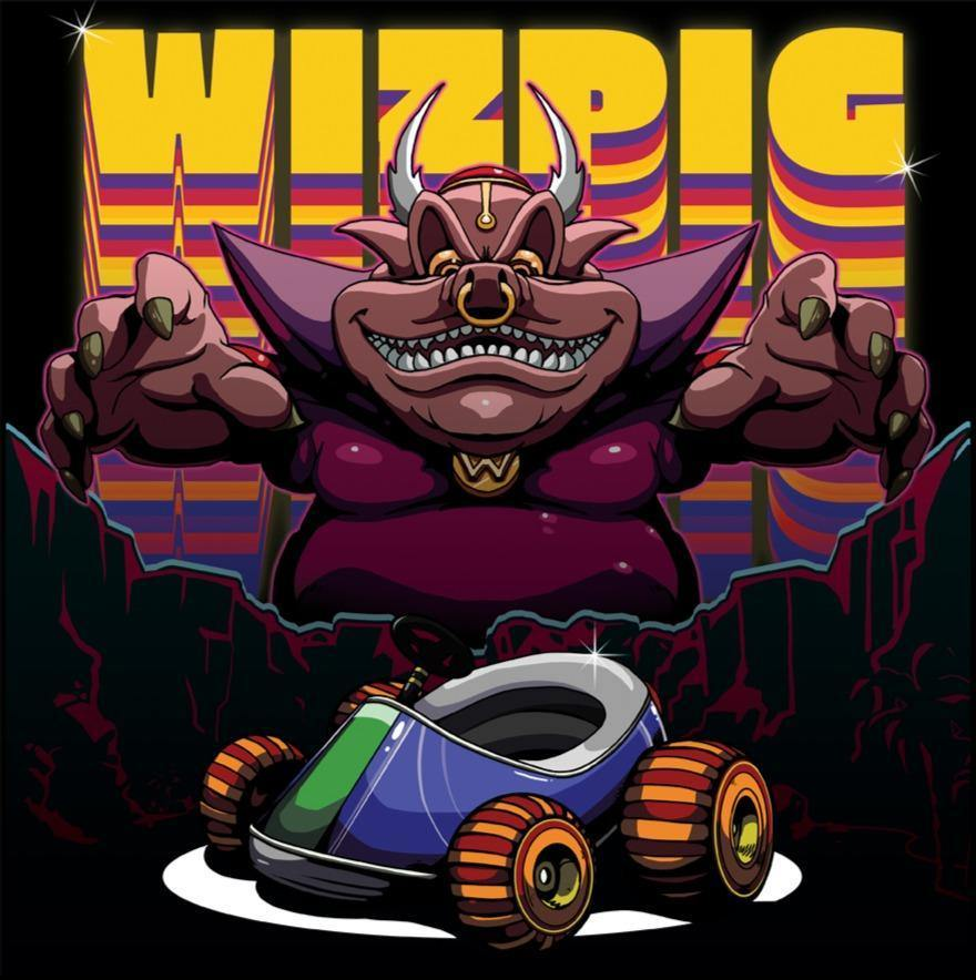 WIZPIG (Diddy Kong Racing tribute) Vinyl