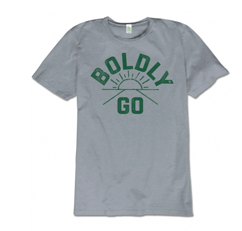 """Boldly Go"" Men's T-shirt"