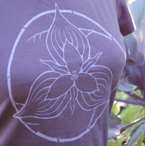 Trillium on Women's Long Sleeve Bamboo