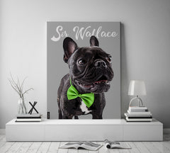 Pink Poster Pop Art Holiday Gift For Dogs