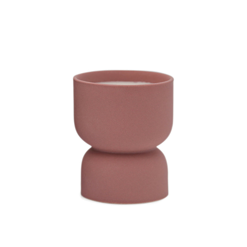 Hourglass Ceramic Candle