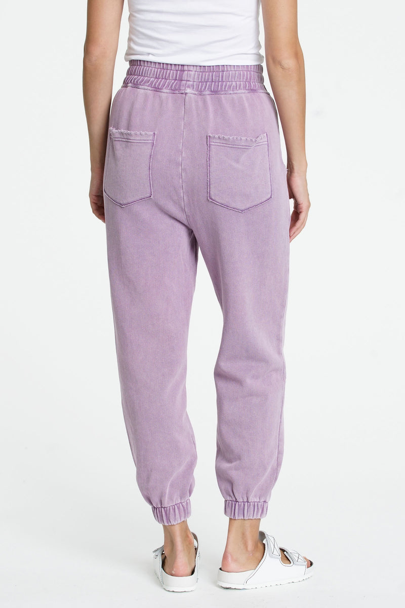 Wynn Cozy Sweatpant with Embroidery