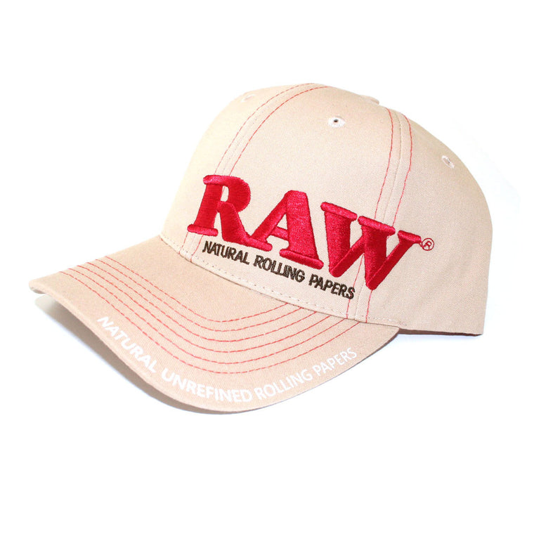 RAW HAT - Tan Cap