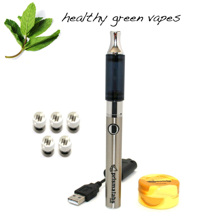 HGV Fog Pen with Dual Ceramic Rod Coil Vaporizer Set