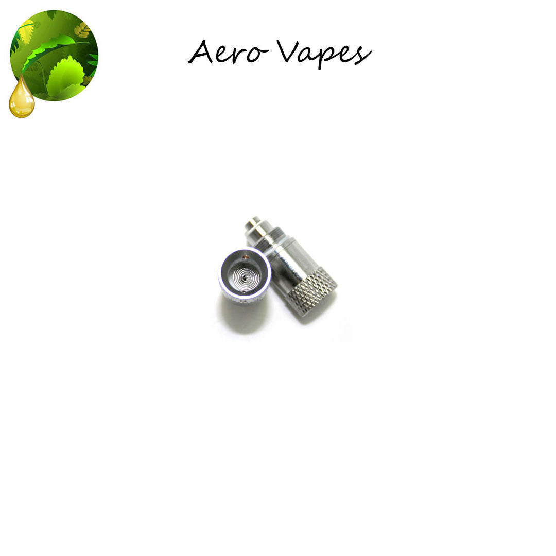 Aero Tank Vaporizer Replacement Coil - High Powered Pancake Atomizer (2 Pack)