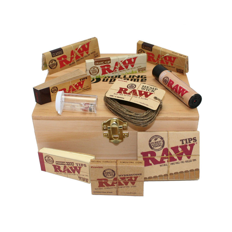 RAW Natural LifeStyle Deluxe Box Kit