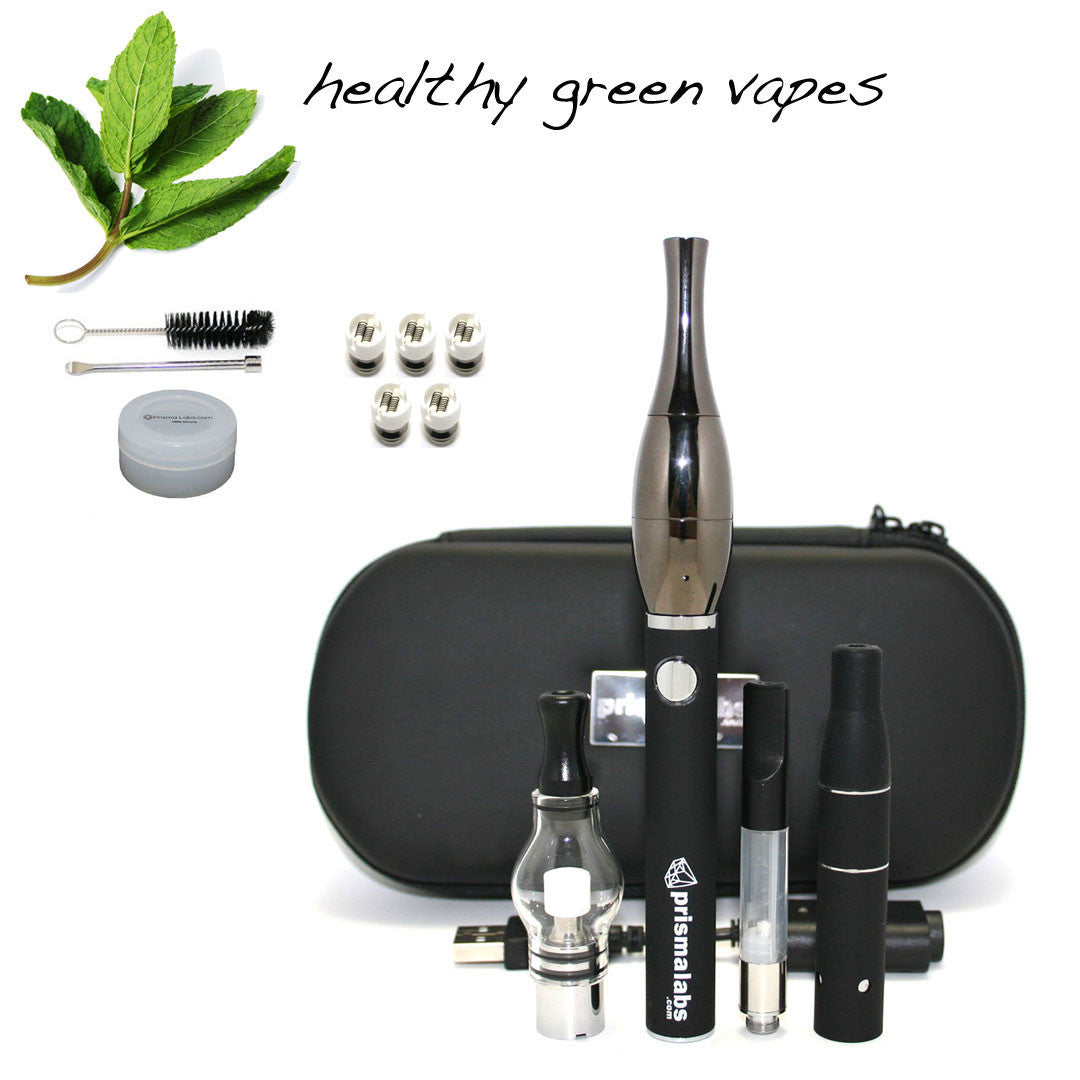 HGV Slicker Vaporizer Kit - Gun Metal Black