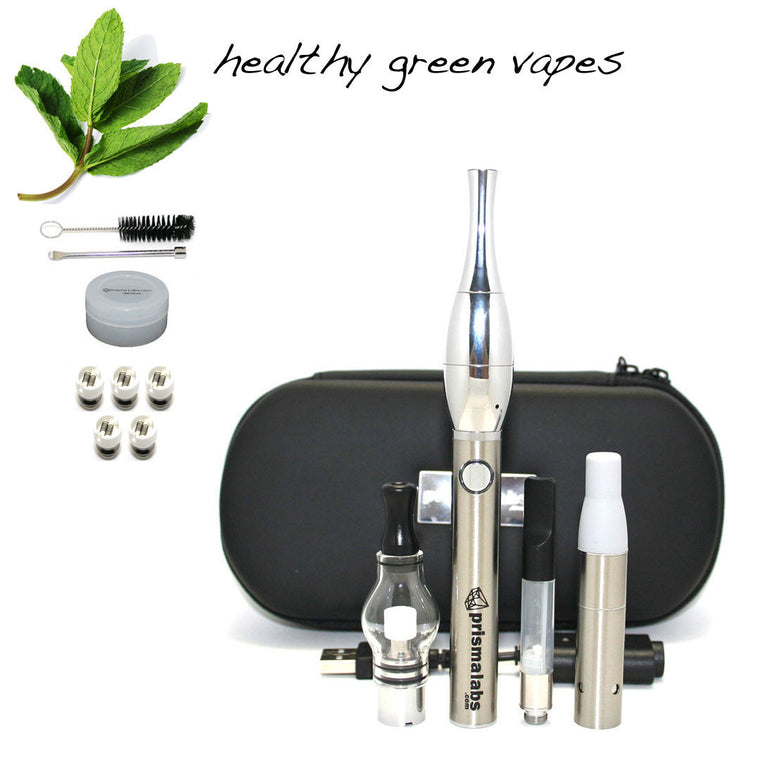 HGV Slicker Vaporizer Kit - Stainless Steel