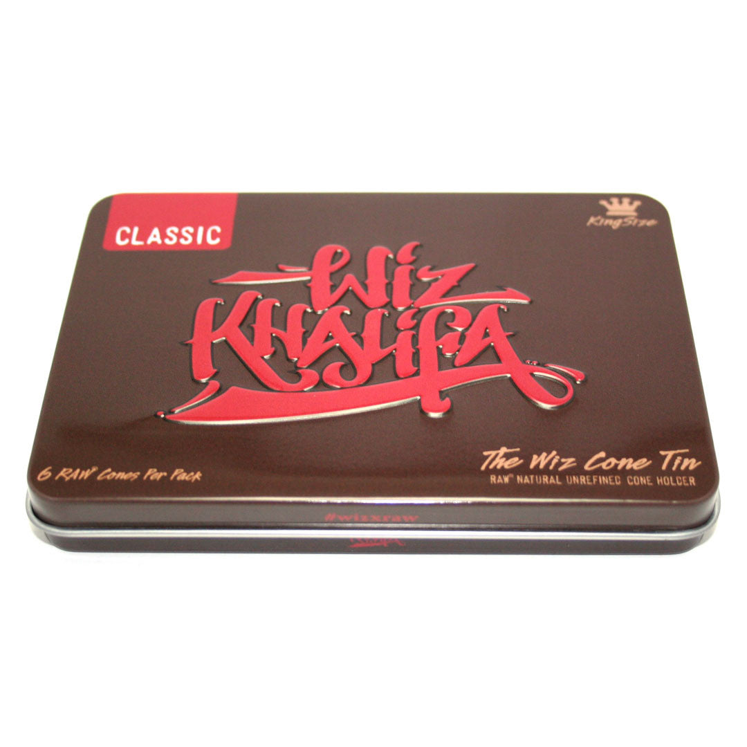 RAW Wiz Cone Tin KingSize