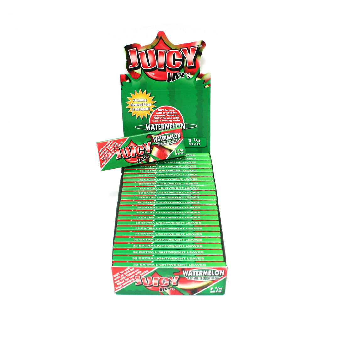 Juicy Jay's Rolling Papers 1 1/4 - Watermelon