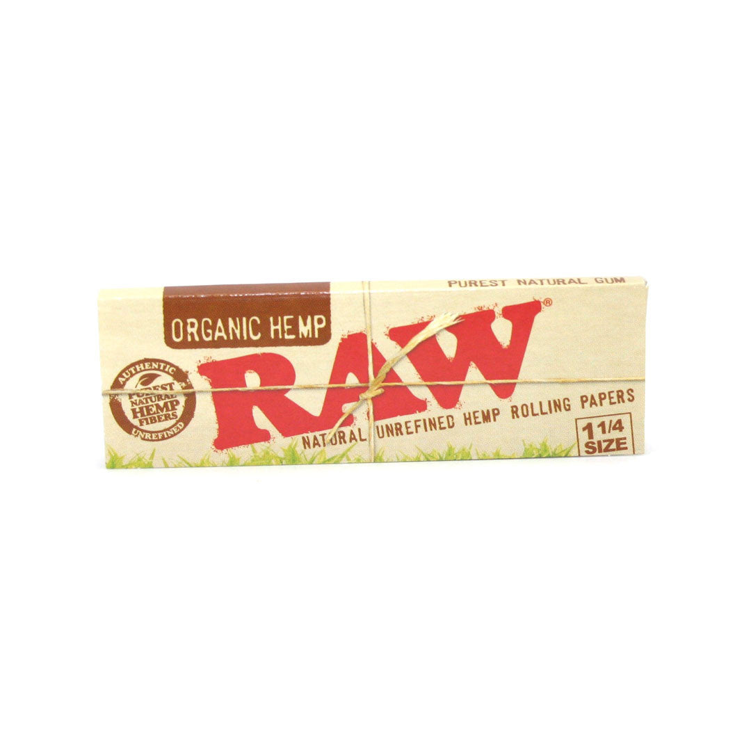 RAW Unrefined Organic Hemp Papers 1 1/4