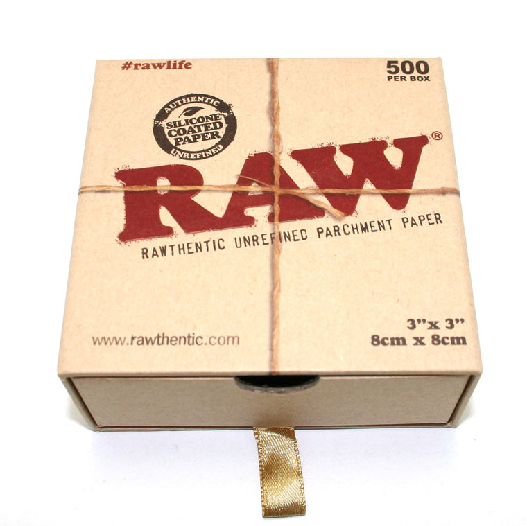 RAW Parchment Paper 3 X 3  - 500 sheets/PACK