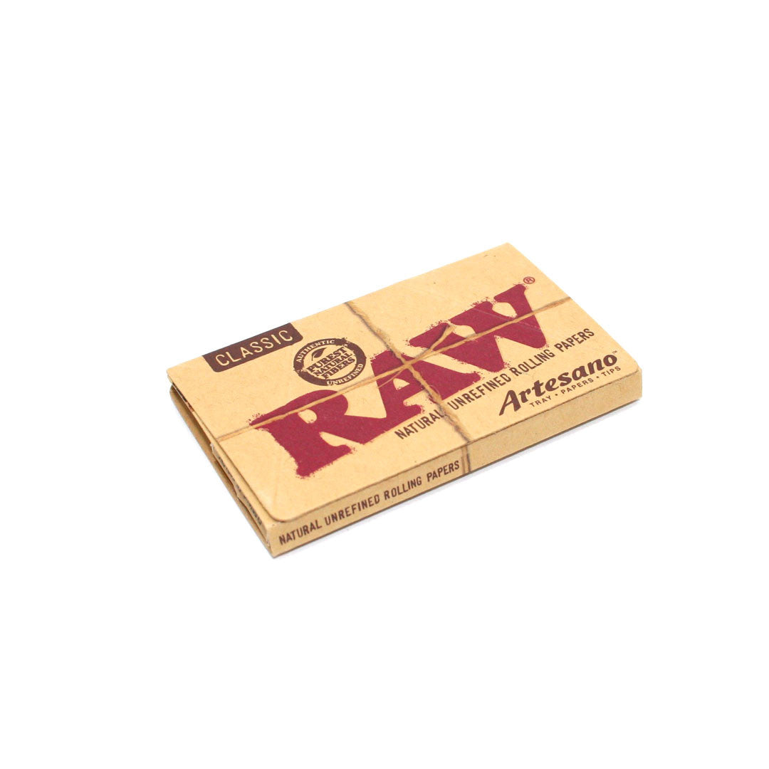 RAW Unrefined Rolling Paper Artesano Pack (1 1/4)