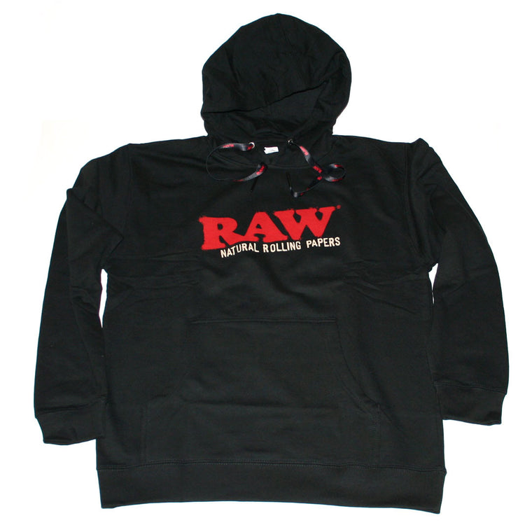 RAW Men's Hoodie - Black