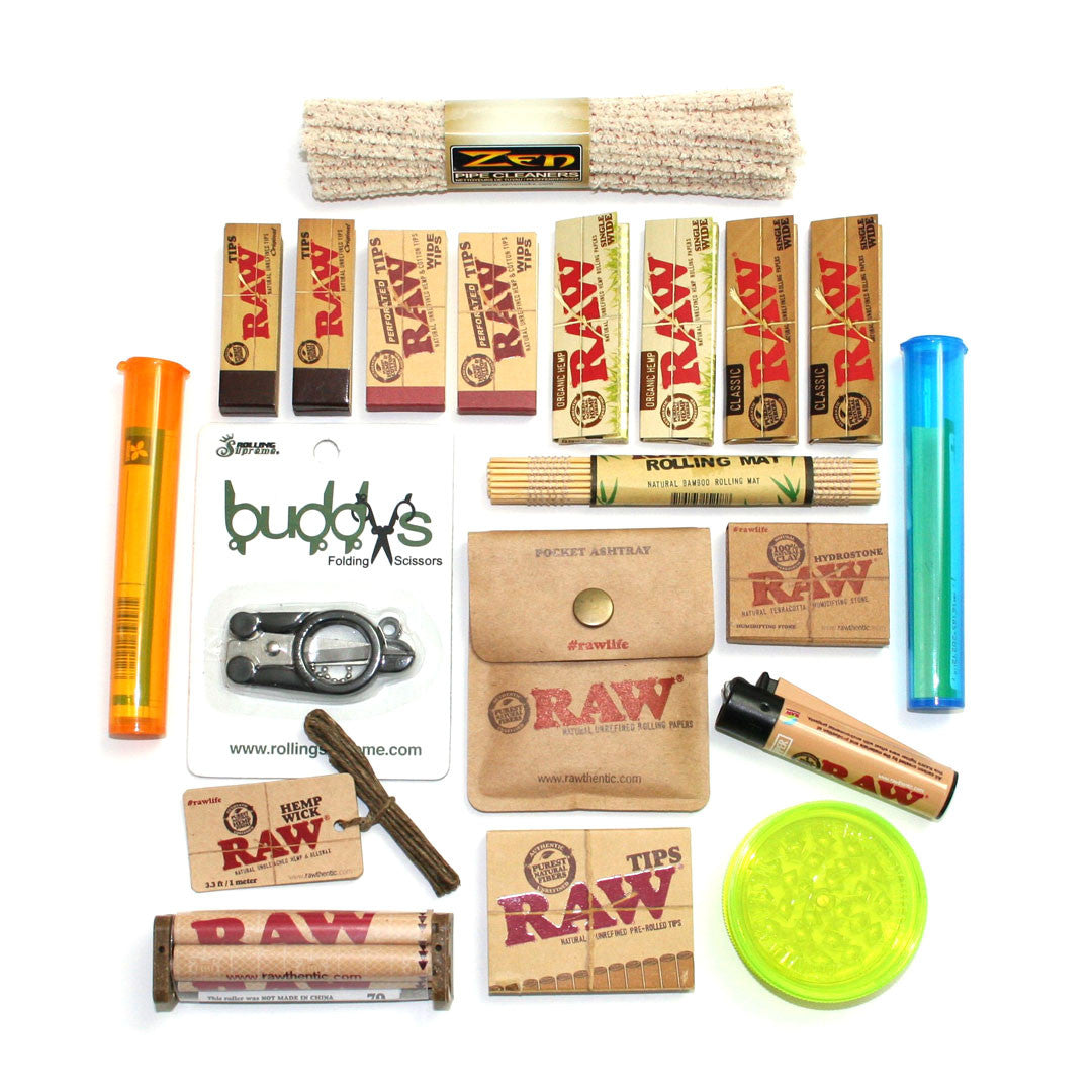 RAW Holiday Santa Gift Pack