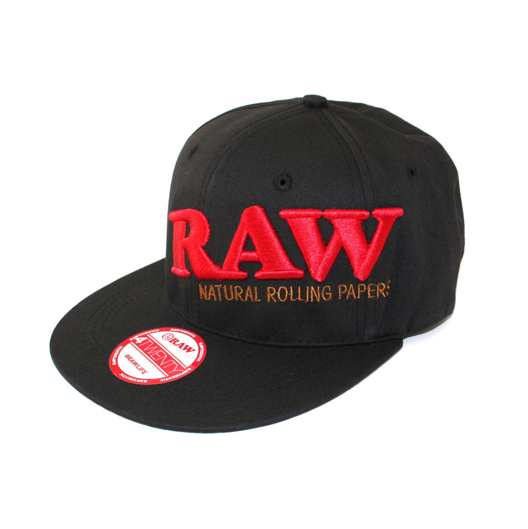 RAW HAT - Black Flex Fit Cap (Large-XLarge) - Prisma Labs 3fb578df9a6b
