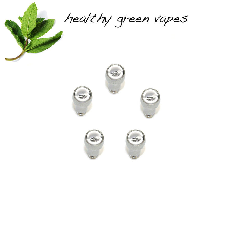 HGV Replacement Coils - Ceramic Wick in Metal Casing (5 Pack)