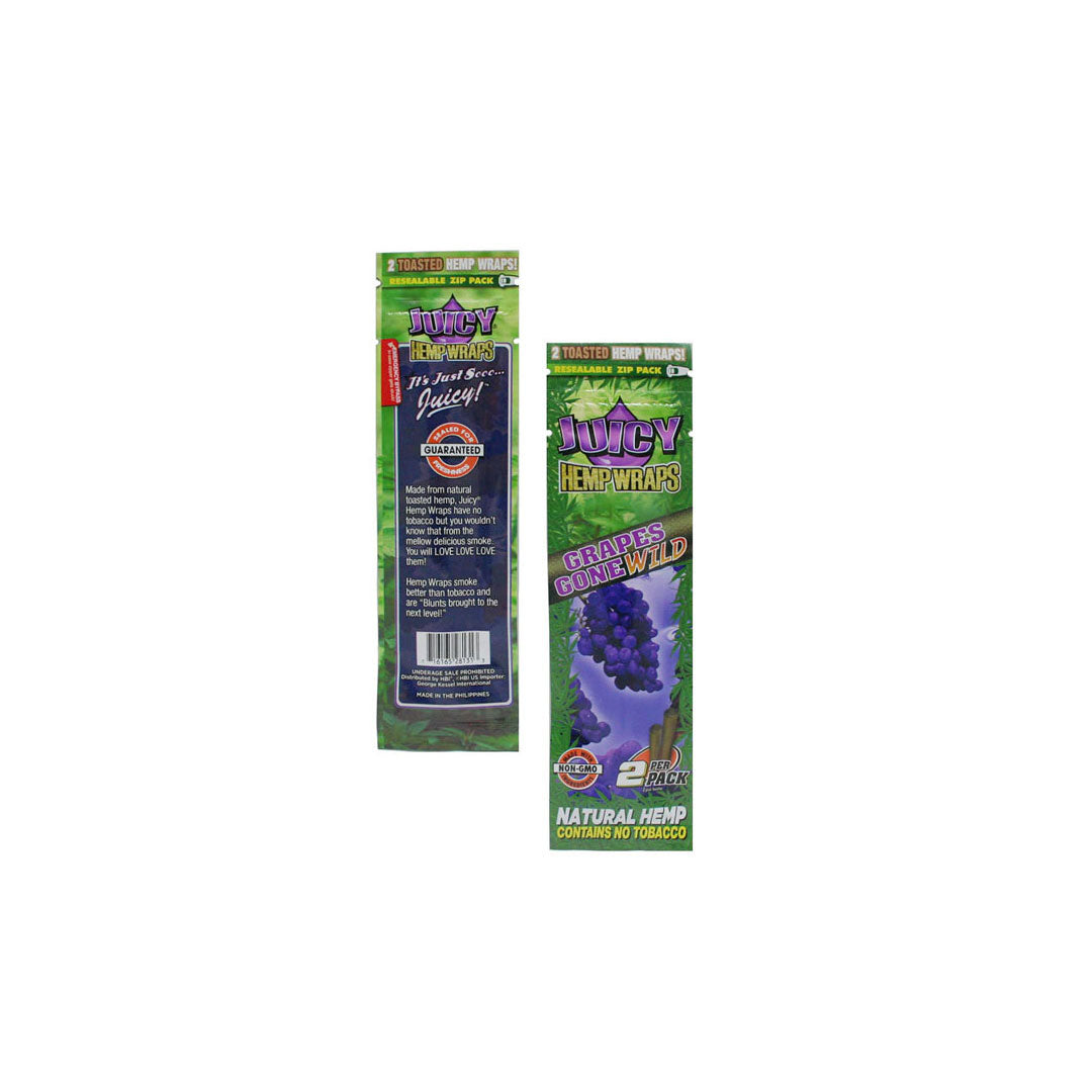 Juicy Hemp Wraps -  Variety 6-Pack