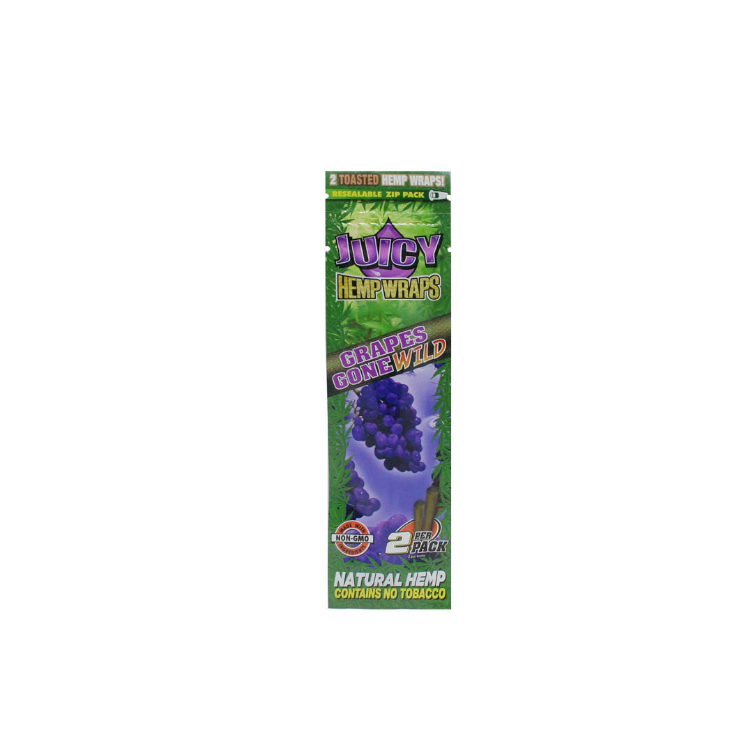 Juicy Hemp Wraps - Grapes Gone Wild 2/pack