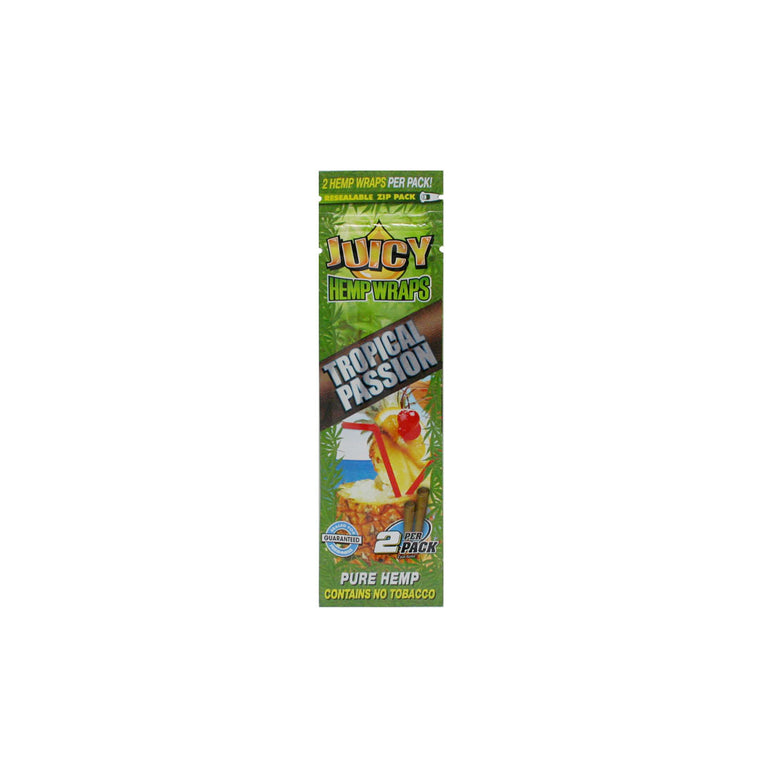 Juicy Hemp Wraps - Tropical Passion 2/pack