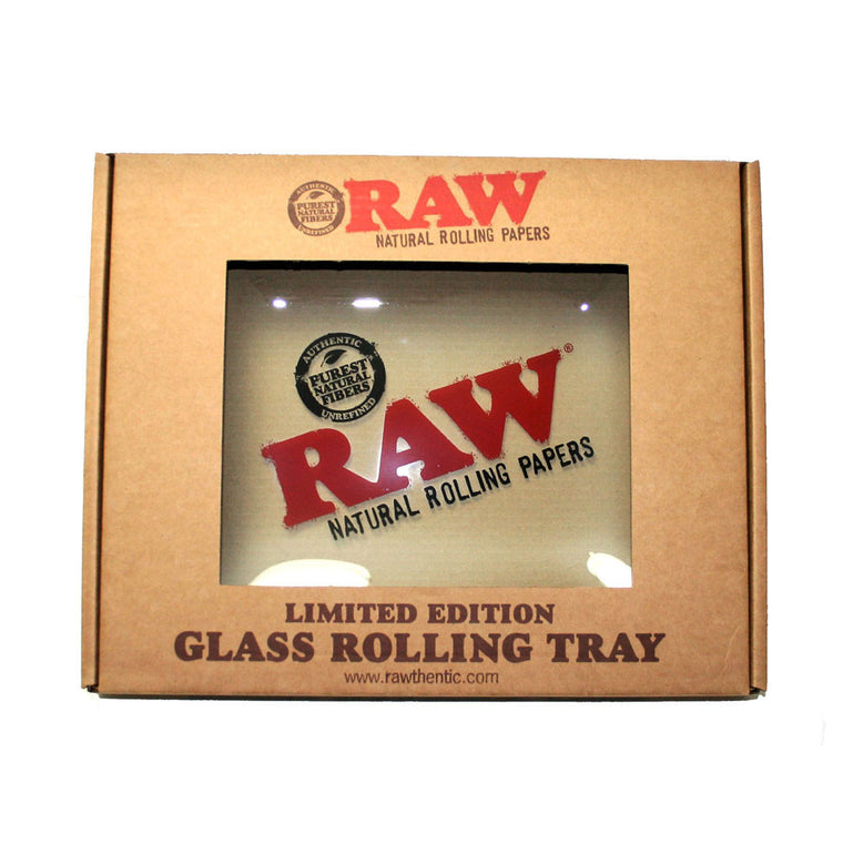 RAW Rolling Tray - Glass Tray