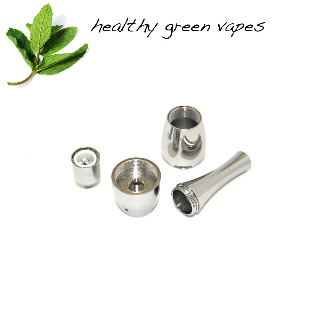 HGV Cannon Globe Replacement for Haze Pen Vaporizer (Stainless Steel)