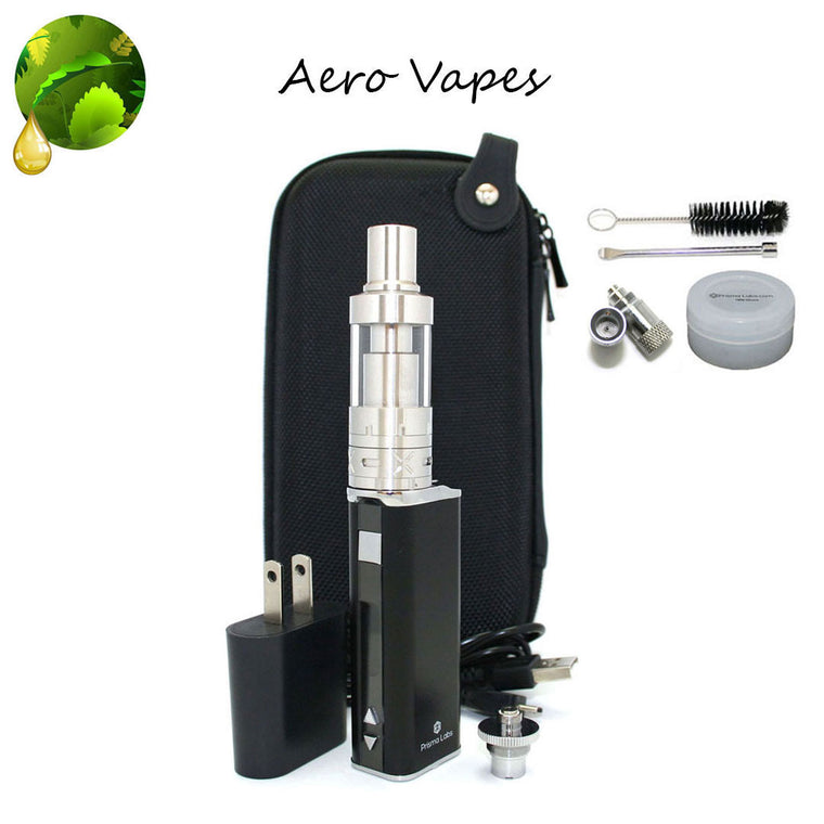 Aero Tank  Vaporizer Kit with High Powered Pancake Atomizer