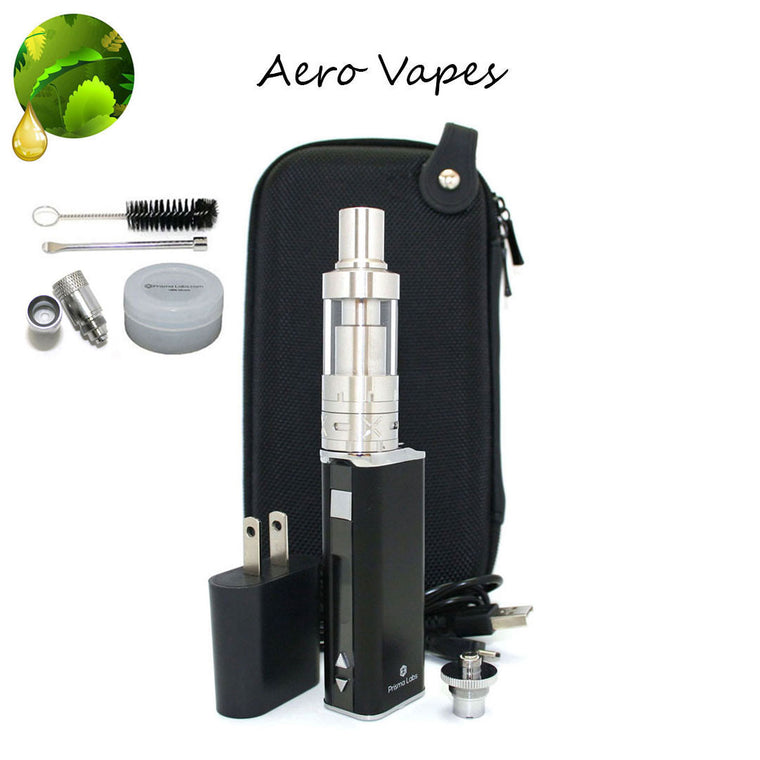 Aero Tank  Vaporizer Kit with Ceramic High Powered Donut Atomizer
