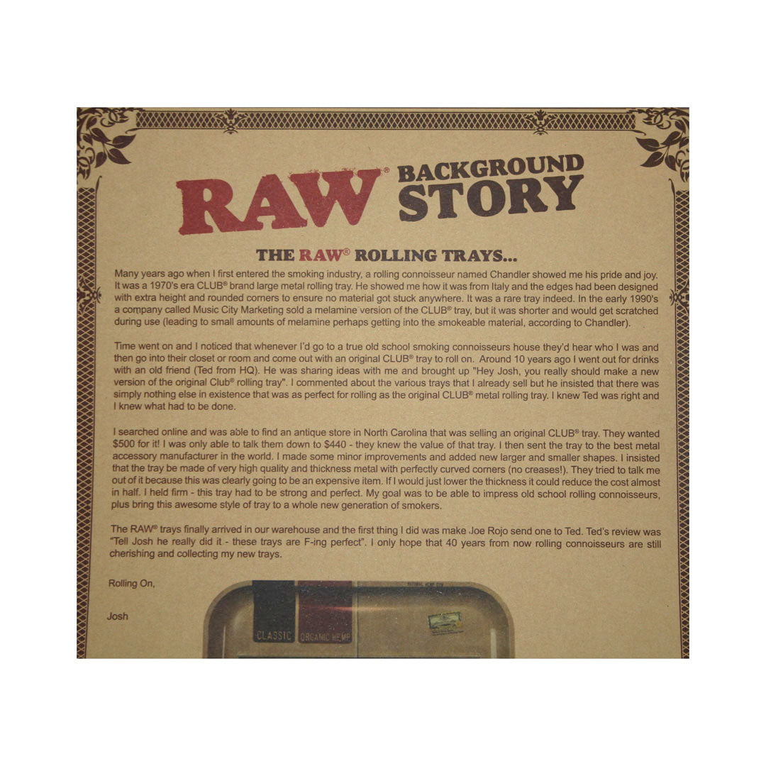 RAW Rolling Tray Girl - Large