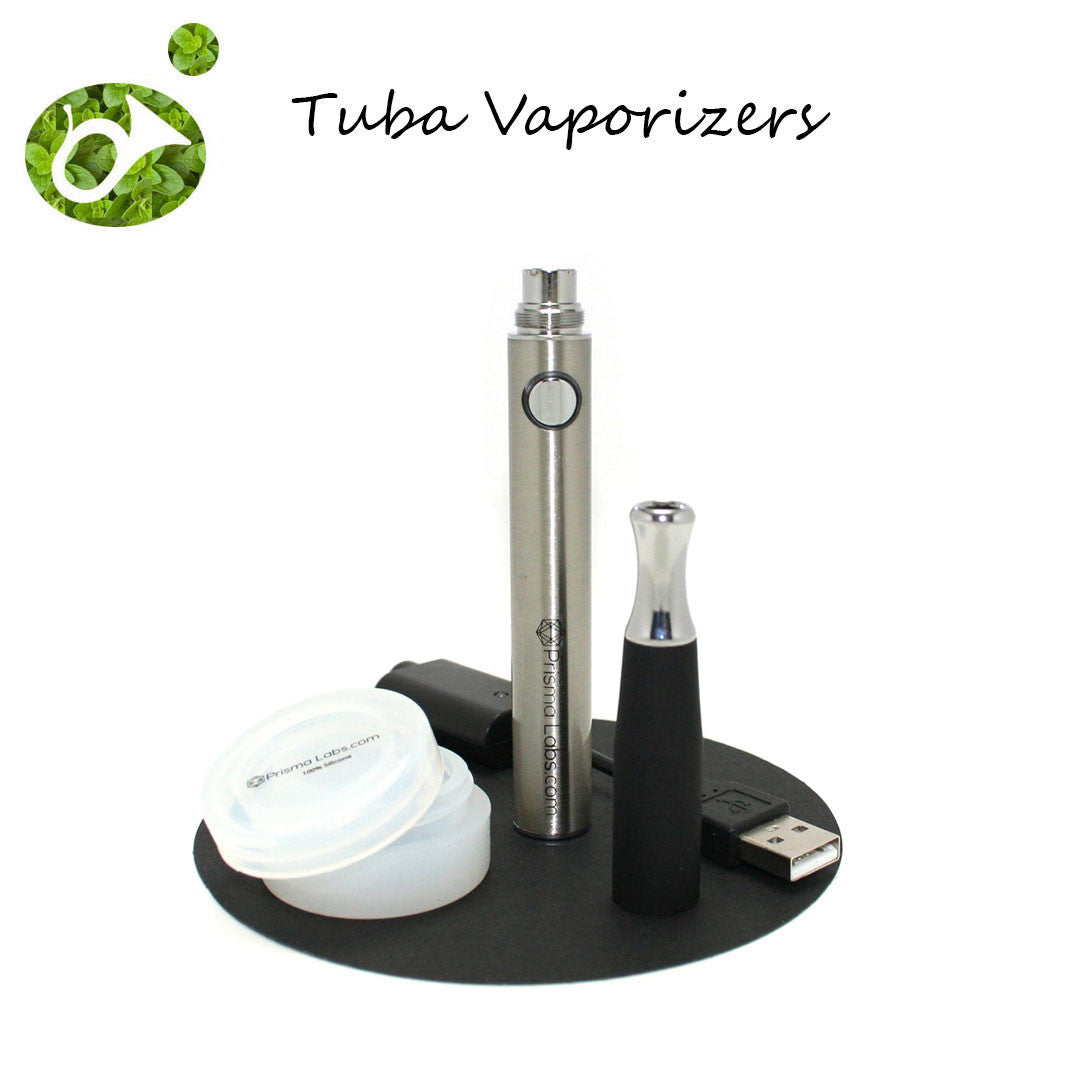 Tuba Pen with Dual Ceramic Rod Vaporizer Set