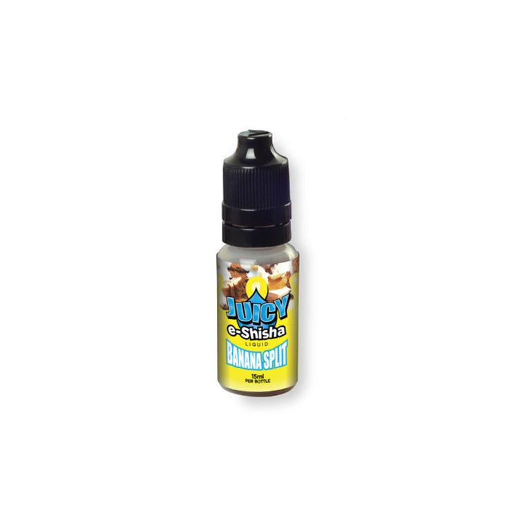 Juicy Jay's E-Juice Banana Split 15ml  Bottle - No Nicotine