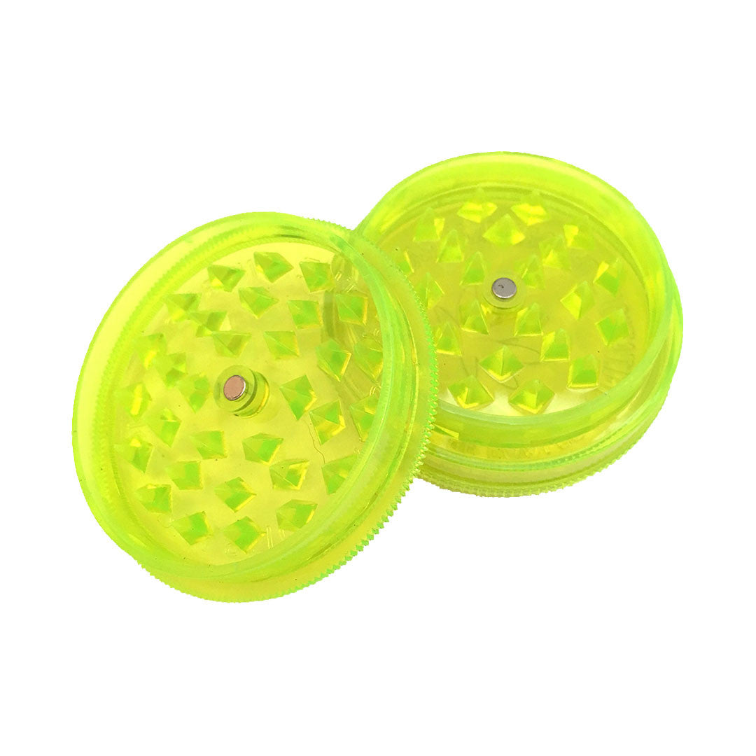Buddies Plastic Grinder with Diamond teeth & magnet