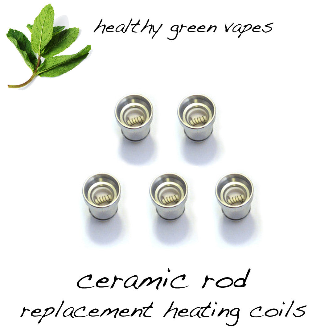 HGV Replacement Coils - Ceramic Rod (5 Pack)