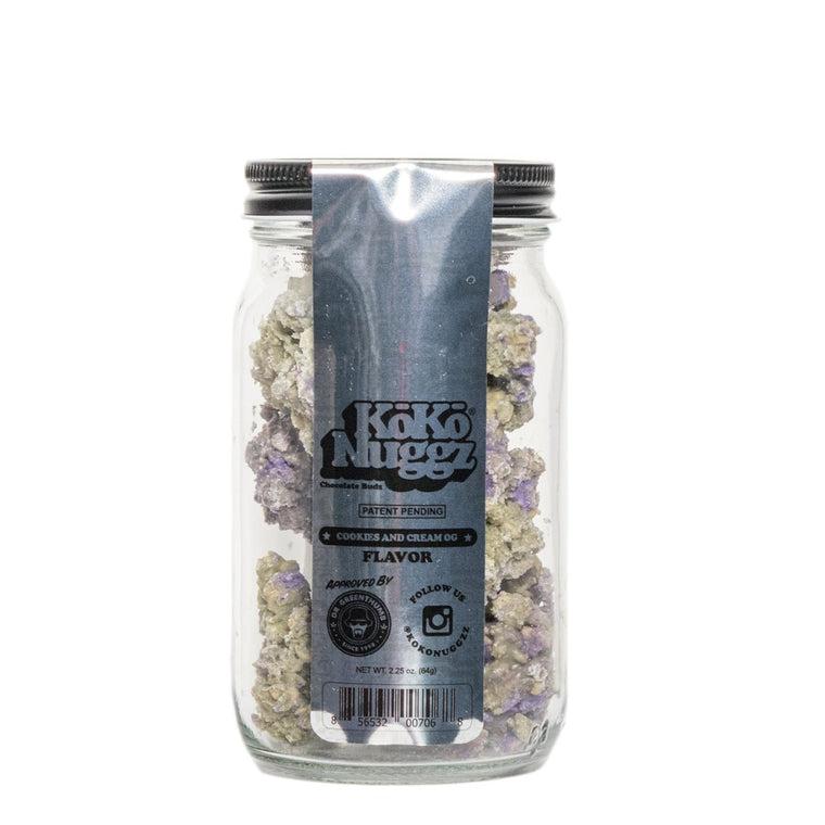 KOKO NUGGZ Cookies & Cream Flavor 2.25oz