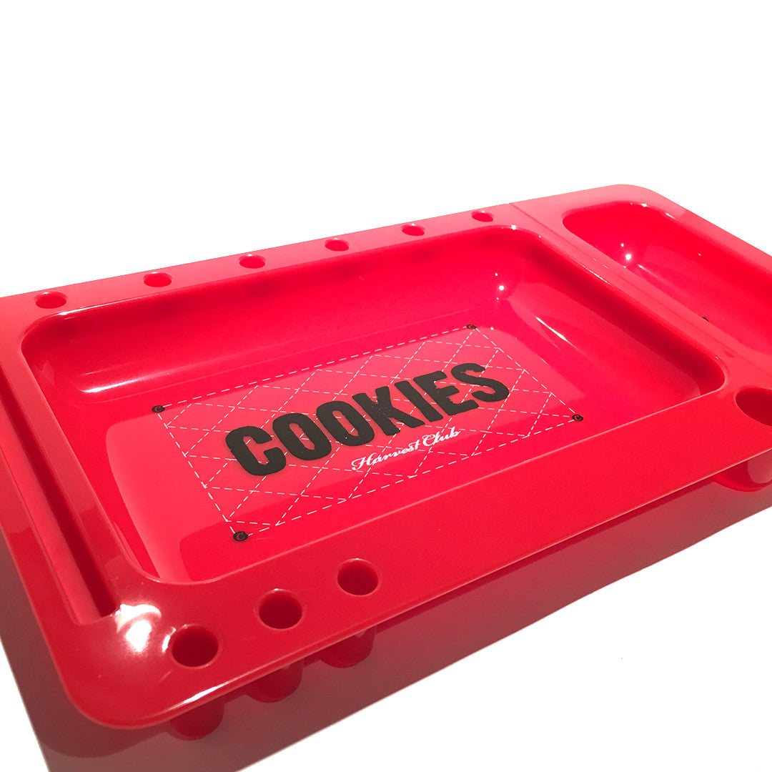 Rolling Tray - COOKIES Red Tray