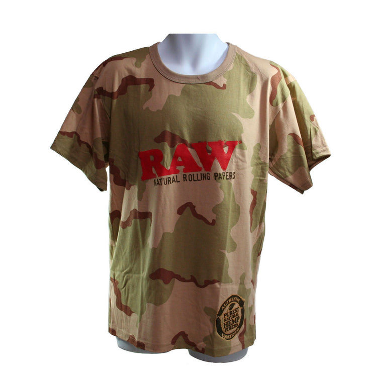 RAW Men's T-Shirt Camo