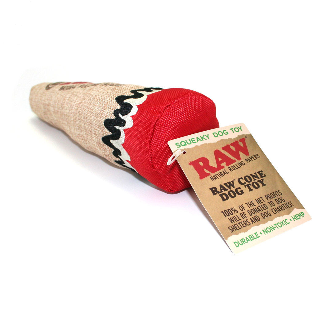 RAW Cone Dog Toy